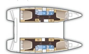 Catamaran Lagoon 42 (Antares)