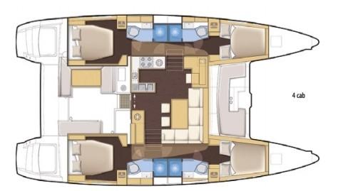Catamaran Lagoon 450F (Living A Dream)